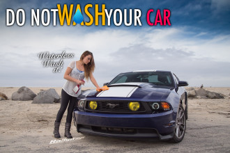 Waterless Wash Mustang