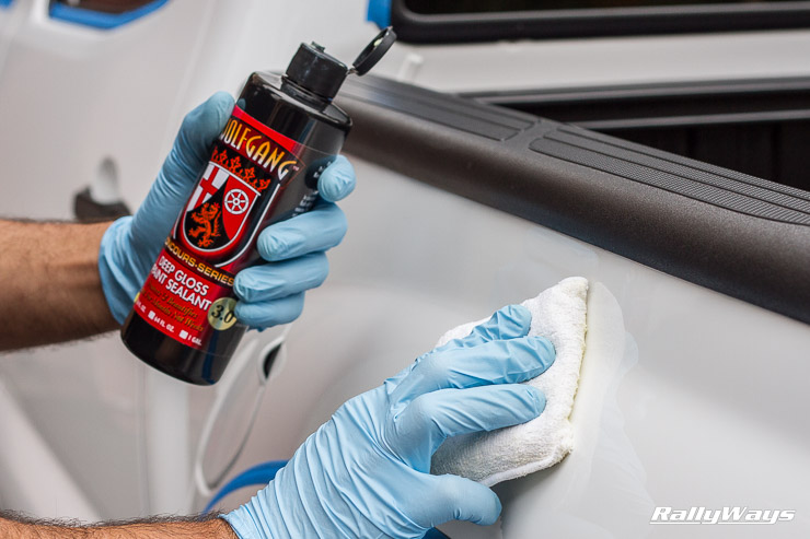 Wolfgang Paint Sealant 3.0 Application