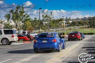 World Rally Blue STI