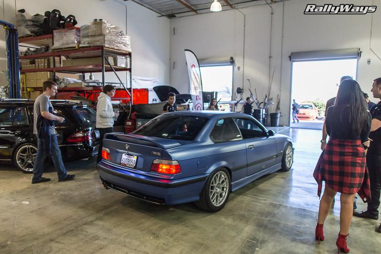 Matte Blue BMW M3 E36