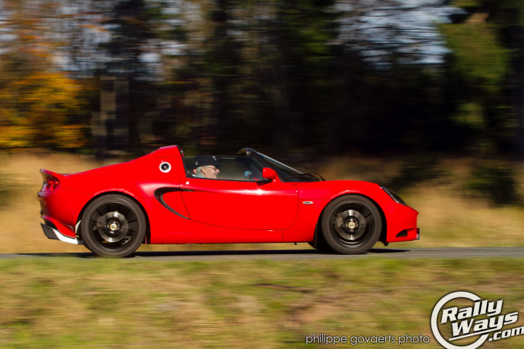 2012 Lotus Elise at Speed