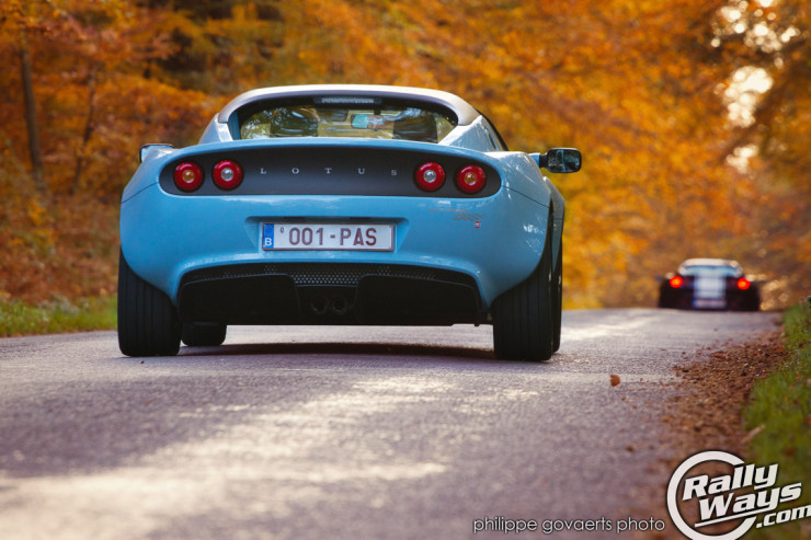 2012 Lotus Elise Club Racer Sky Blue