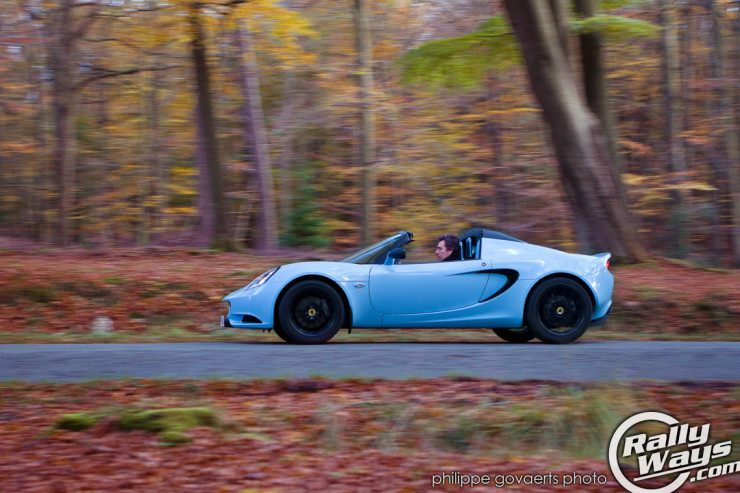 2012 Lotus Elise CR Sky Blue