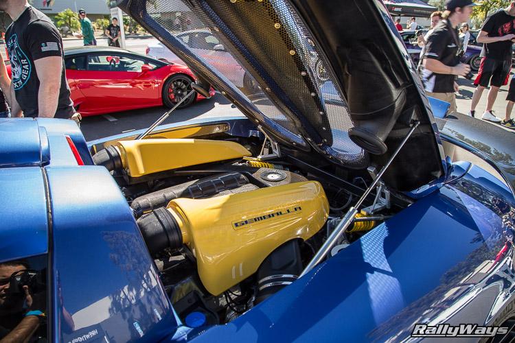 Gemballa Porsche CGT Engine