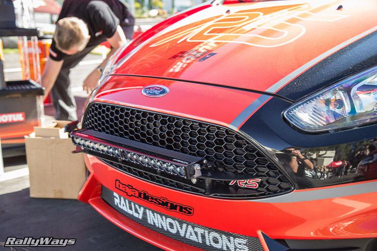 Ford Fiesta ST Rally Light Bar