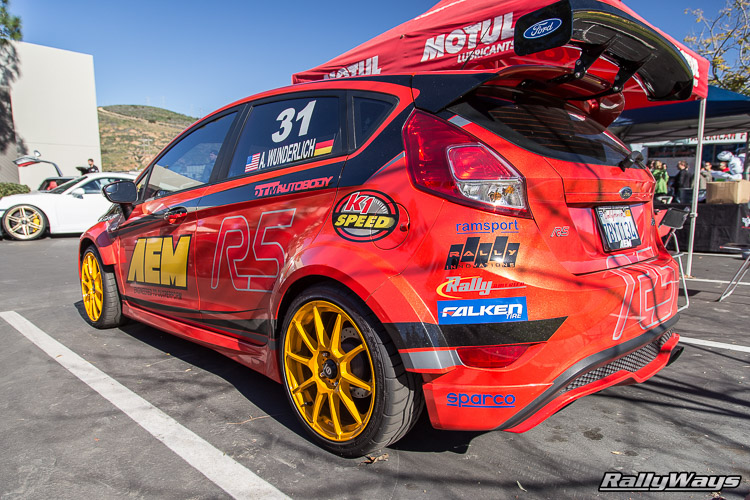 Modded Molten Orange Fiesta ST