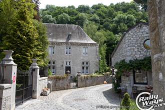 Belgian Ardennes Town