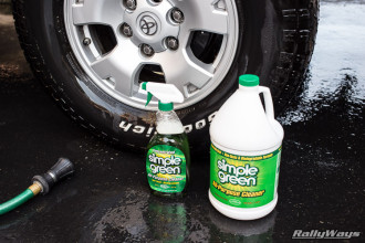 How to Clean Car Tires Using Simple Green
