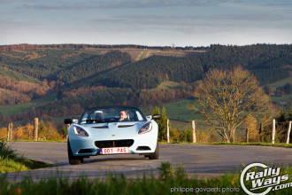 Lotus Elise in the Belgium Countryside