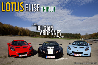 Lotus Elise Triplet – The Belgian Ardennes Drive