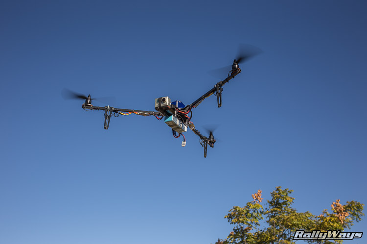RallyWays Tricopter Blue Skies - Fortis Airframes Titan
