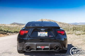 Supercharged Subaru BRZ Tail