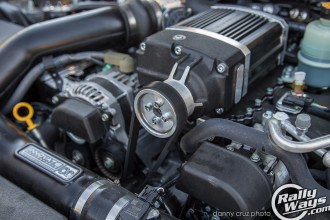 Subaru BRZ Supercharger Close Look
