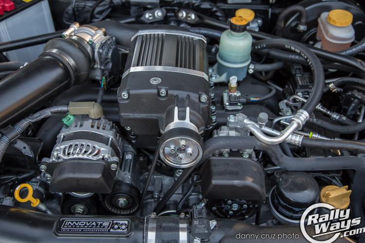 Subaru BRZ Innovate Motorsports Supercharger