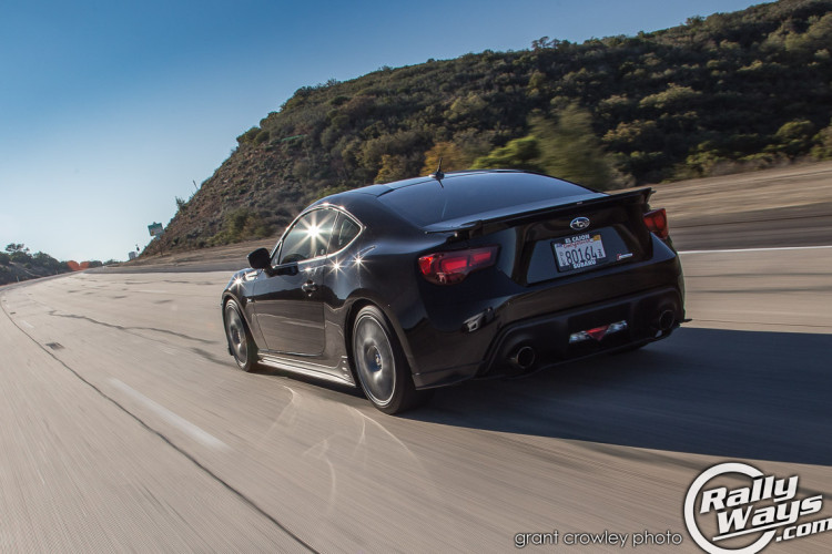 Late Afternoon Subaru BRZ Rolling Shot
