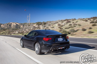 Rolling Shot of a Subbie BRZ