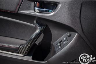 Subaru BRZ Carbon Fiber Door Pulls