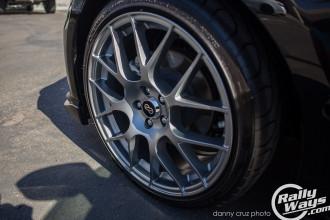 Subaru BRZ Enkei Raijin Wheels