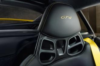 Porsche Cayman GT4 Seatback