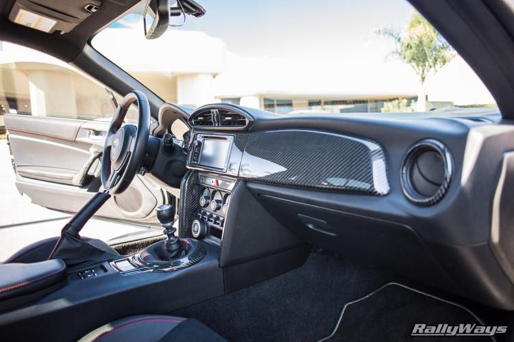 Custom Carbon Fiber Subaru BRZ Interior