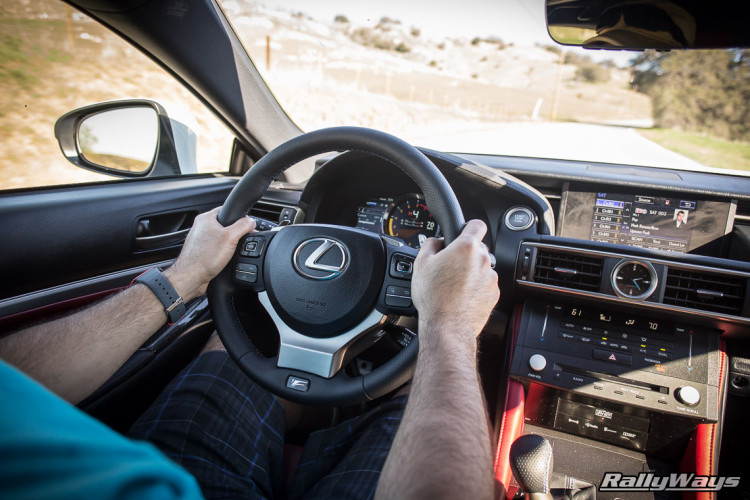 Driving the Lexus RC-F