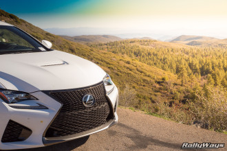 Lexus RC-F on Sunrise Highway