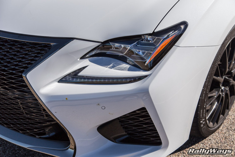 Lexus RC F Headlight Shot