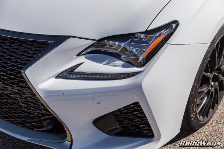 Lexus RC F Headlight Shot