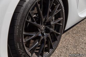 Lexus RC F Black Wheels