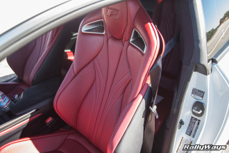 Lexus RC-F Red Leather Heating and Cooling Seats