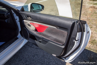 Lexus RC-F Inner Door Card