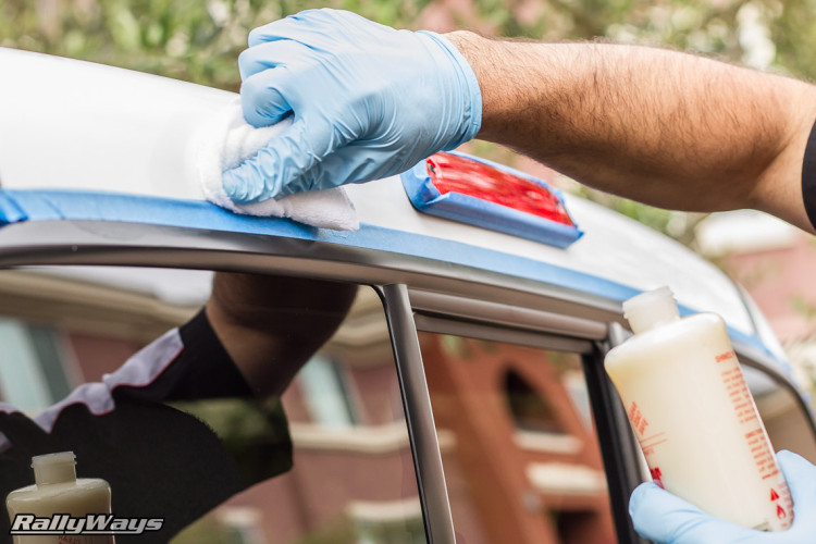 Nitrile Gloves for Car Detailing