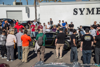 Porsche 918 Spyder at Symbolic Motors Draws a Crowd