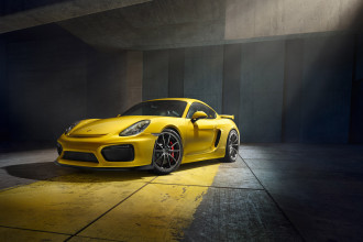 The Best Looking Angle of the Porsche Cayman GT4