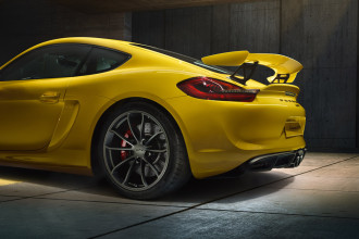 Porsche Cayman GT4 Rear Quarter