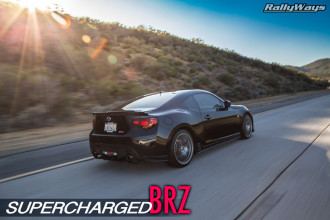 Supercharged Subaru BRZ Canyon Carving
