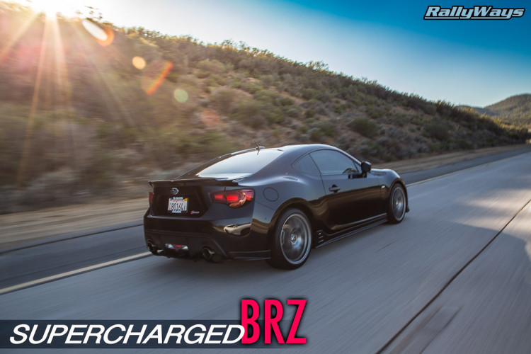Supercharged Subaru BRZ RallyWays Cover Story
