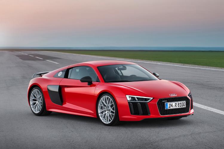 Audi R8 V10 Plus Geneva Motor Show 2015 Reveal