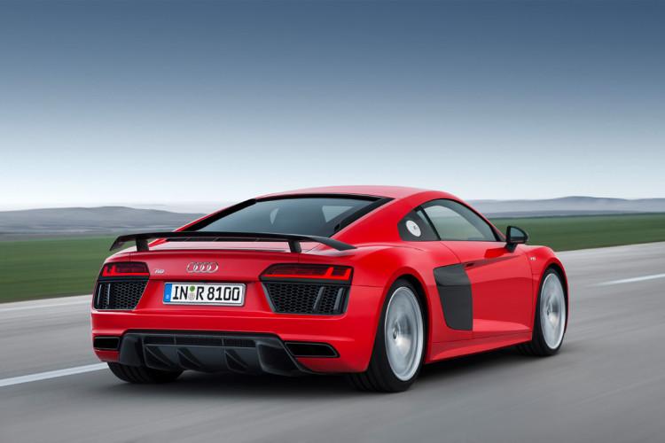 Audi R8 V10 Plus Rear - Geneva Motor Show 2015