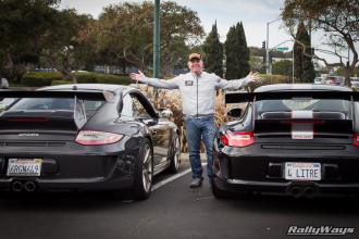 Tony McGuiness and a Pair of Porsche 911 GT3 RS