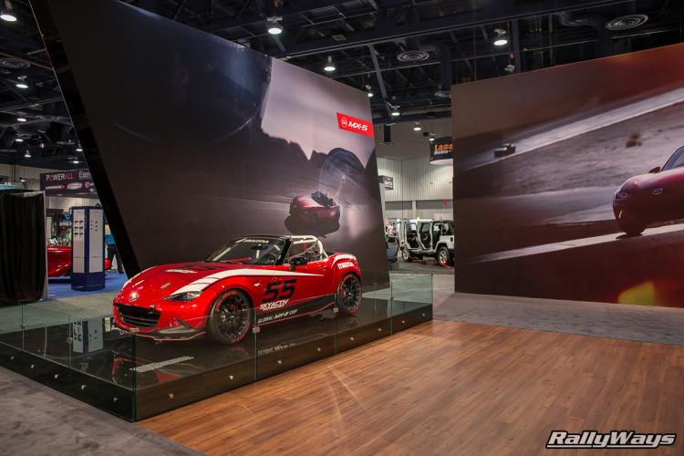 Mazda MX-5 Global Cup Car at SEMA