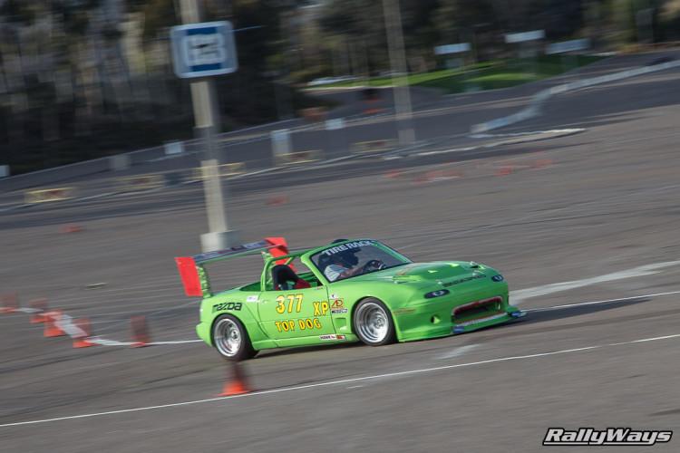Miata SCCA Autocross Qualcomm Stadium San Diego