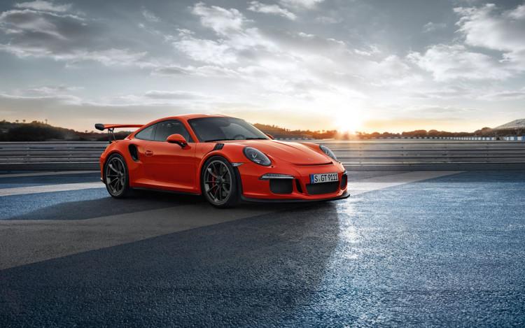 Porsche 991 GT3 RS Front - Geneva Motor Show 2015 Reveal