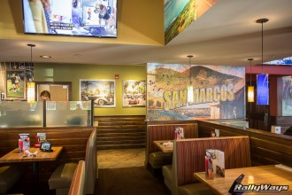Applebee's San Marcos Displays RallyWays Car Photography