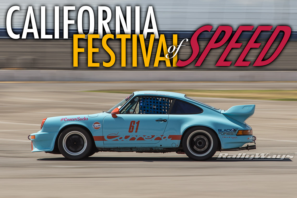 California Festival of Speed Porsche Racing