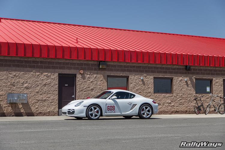 Porsche Cayman Auto Club Speedway