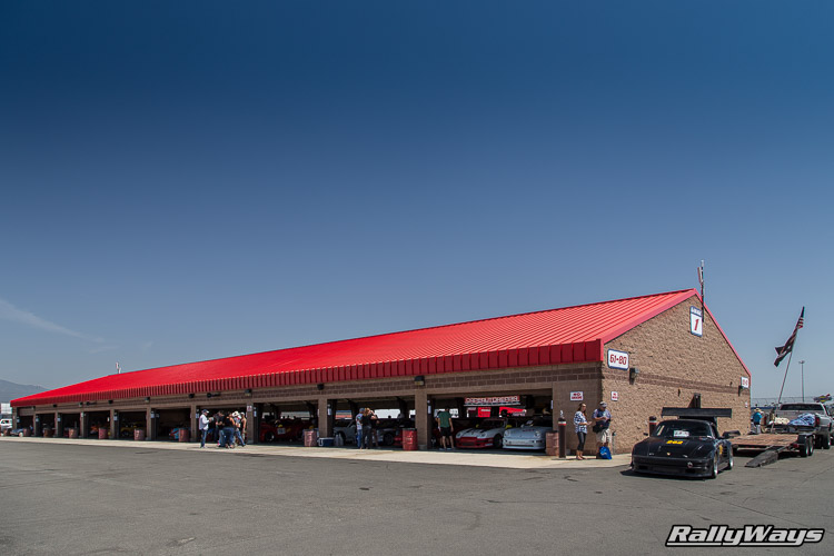 The Garages at Auto Club Speedway
