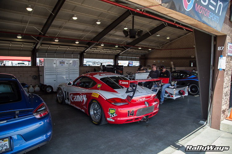 Canon Porsche Cayman Race Car