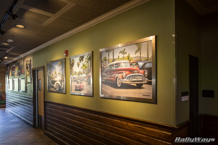 Classic Car Photography by RallyWays at an Applebee's Restaurant