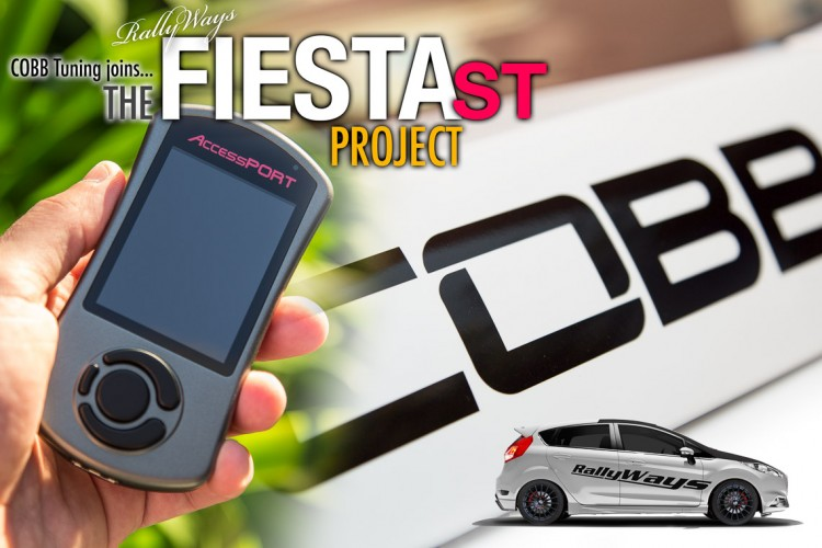 COBB Tuning Partners with RallyWays on the Fiesta ST Project
